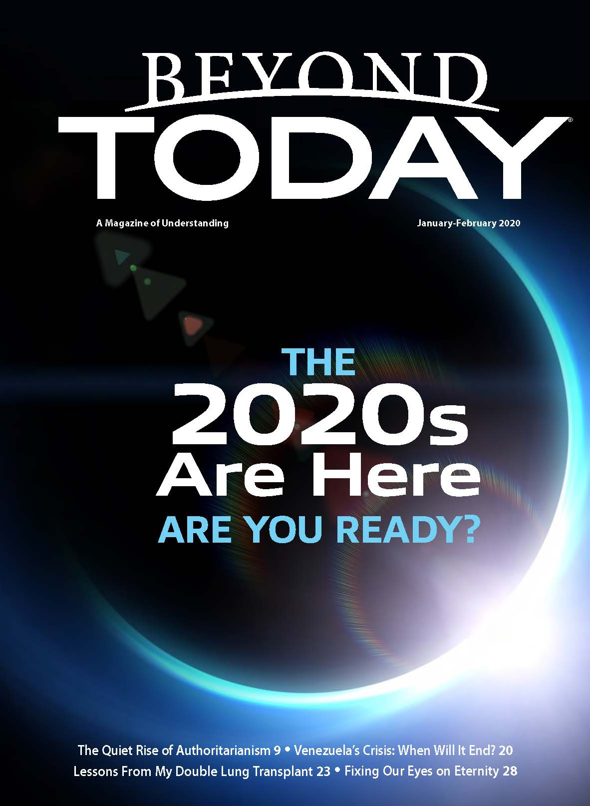Beyond Today magazine cover