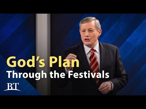 God's Plan Through the Festivals